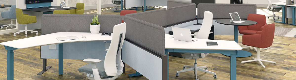 Haworth Compose Integrated Systems Furniture