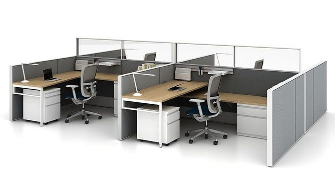 Haworth Compose Systems Furniture Workstations