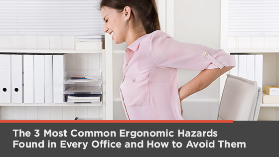 Common ergonomic hazards