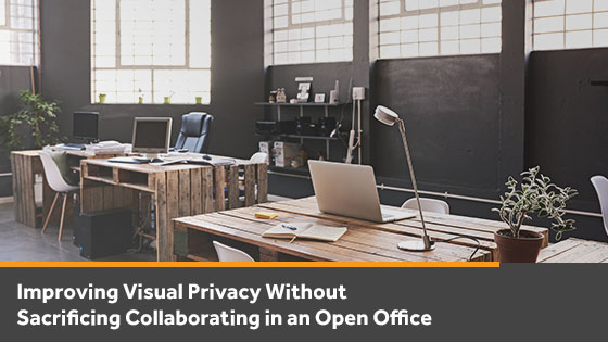 How to Improve Visual Privacy in an Open Office