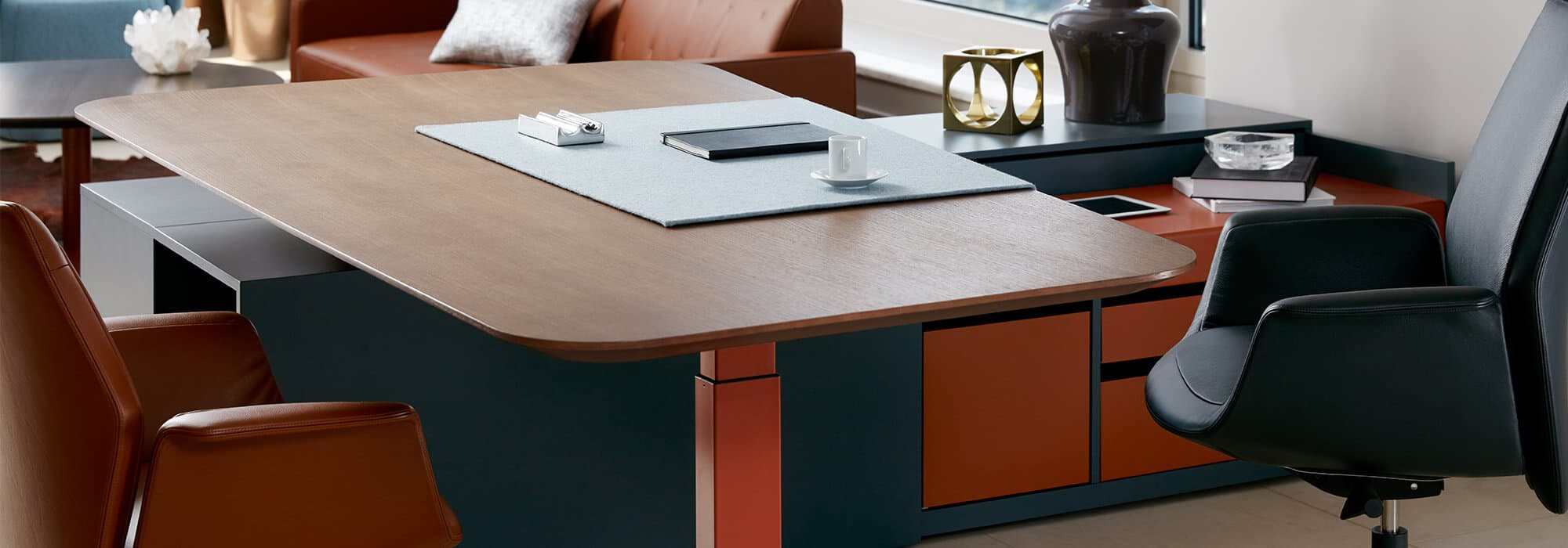What is the cost of an office desk?